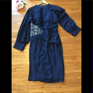 Dresses & Skirts - JJ's Navy  Blue for wedding /special occasion